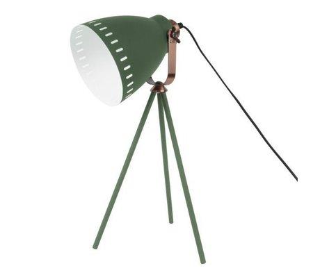 Leitmotiv lampada da tavolo Mingle Ø16.5x54x31cm metallo verde