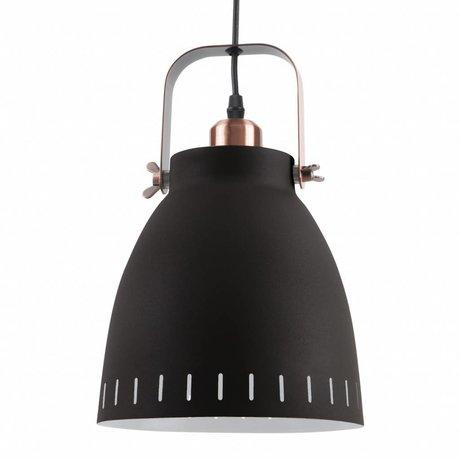 Leitmotiv Lámpara colgante Colgante Mingle metal negro Ø26,5x19x26,5