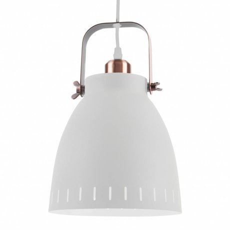 Leitmotiv Pendant lamp Pendant Mingle white metal Ø26,5x19x26,5