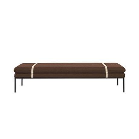 Ferm Living Lit de jour Turn Rusty Laine Nylon 190x80x42,5cm