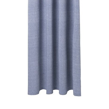 Ferm Living Shower curtain Chambray blue cotton 160x205cm