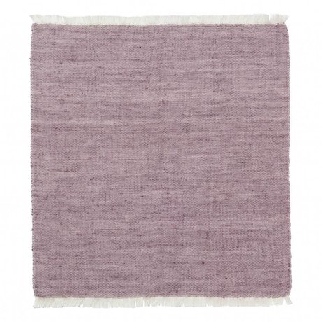 Ferm Living Cotton napkins Blend bordeaux red Set of 2 40x40cm