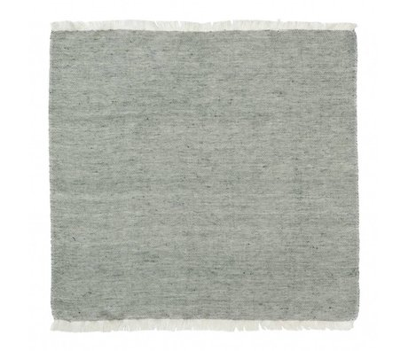Ferm Living Cotton napkins Blend green Set of 2 40x40cm