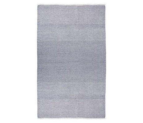 Ferm Living Tørklæde Blend blå 240x140cm