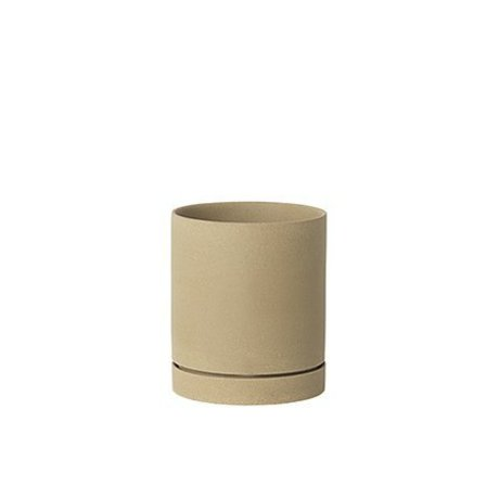 Ferm Living Blumentopf Sekki beige Keramik large Ø15,7x13.5cm