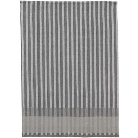 Ferm Living Te håndklæde Grain Jacquard bomuld grå 70x50cm