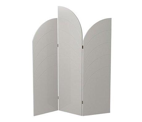 Ferm Living Shelf Unfold high gloss gray MDF 150x180x1,8cm