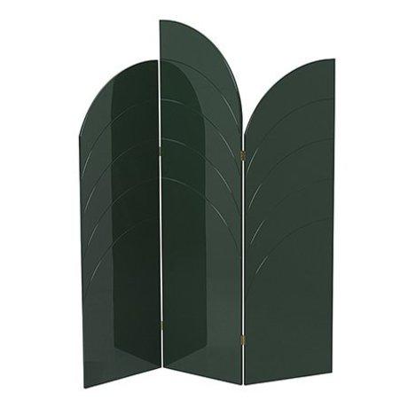 Ferm Living Shelf Unfold high gloss dark green MDF 150x180x1,8cm