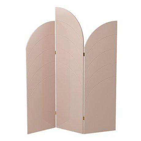 Ferm Living Shelf Unfold high gloss pink MDF 150x180x1,8cm