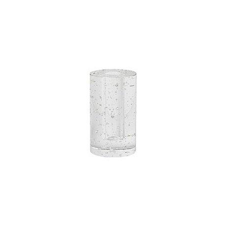 Ferm Living Deko-Objekt Cylinder Bubble Glas 6.6x11.3cm