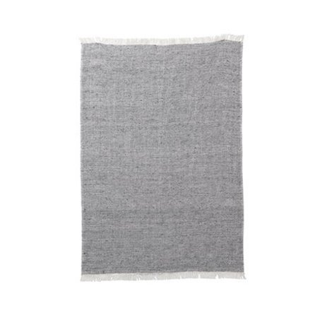 Ferm Living Kitchen towel blend gray cotton linen 70x50cm