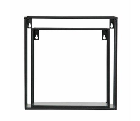 LEF collections Set of 2 - meert cube noir