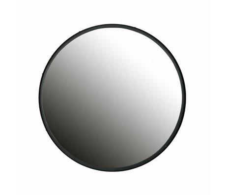 LEF collections Specchio rotondo Lauren grande in metallo