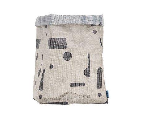 OYOY Kraftzak hokus Pocus polyester gris 30x30x54 cm