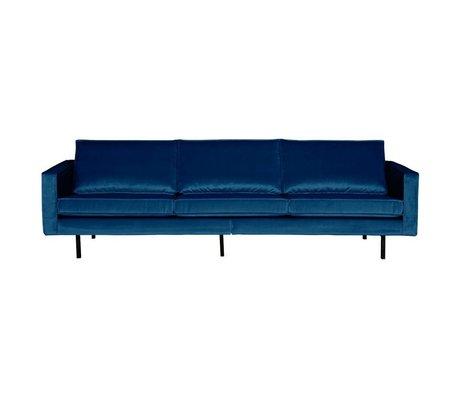 BePureHome Sofa Rodeo 3-seater Nightshade dark blue velvet 85x277x86cm