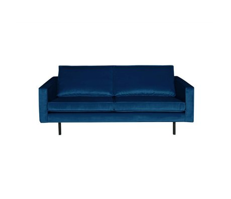 BePureHome Sofa Rodeo 2.5-seater Nightshade dark blue velvet 190x86x85cm