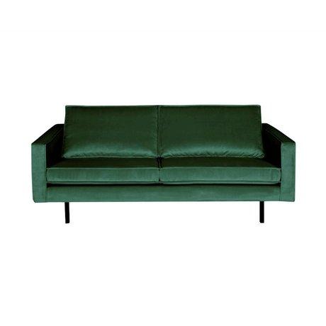 BePureHome Sofa Rodeo 2.5-seat Green Forest green velvet velvet 190x86x85cm