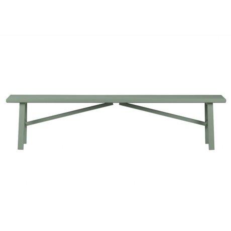 vtwonen Panchina fianco a fianco in cemento di legno verde 37,5x160x30cm