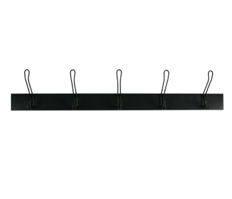 vtwonen Wardrobe Hang On black wood L 21,5x120x12cm