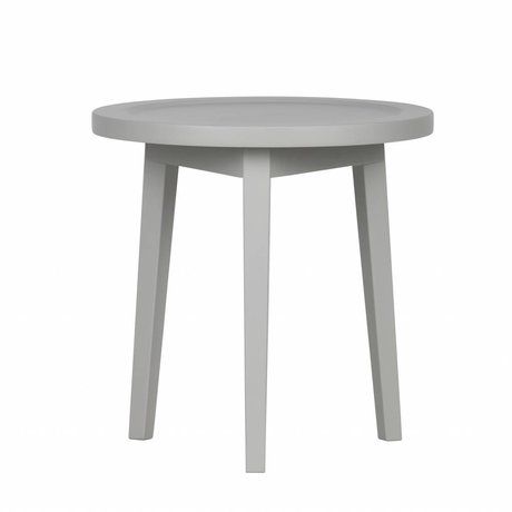 vtwonen Side table Spruce table gray wood XS 45x45x45cm