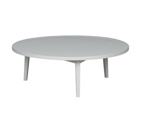 vtwonen Beistelltisch Sprokkeltafel grau Holz L 35x100x100cm