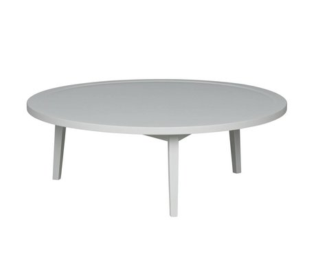 vtwonen Side table Spruce table gray wood L 35x100x100cm
