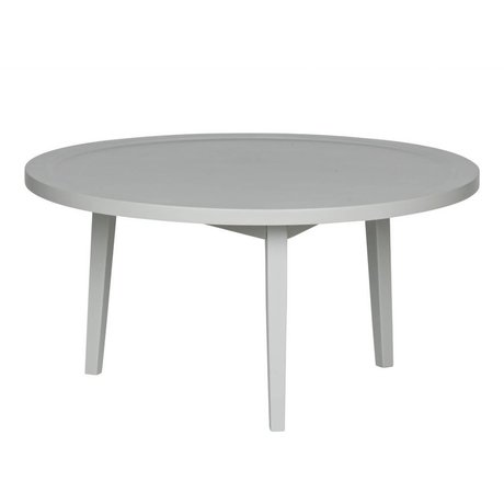 vtwonen Side table Spray table gray wood M 40x80x80cm