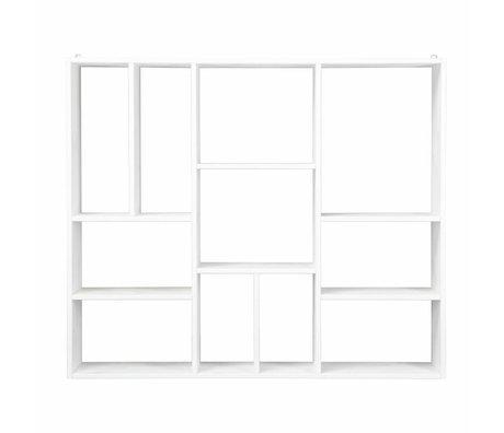vtwonen Coffret XL bois blanc 94x110x20cm