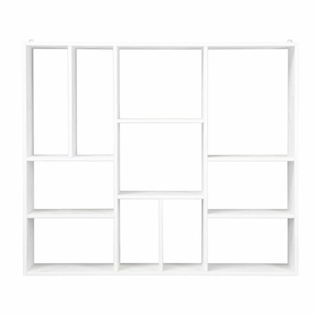 vtwonen Setting box XL white wood 94x110x20cm