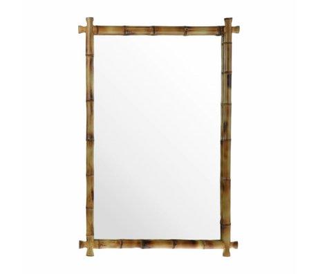 HK-living Mirror bamboo 80x55x3cm