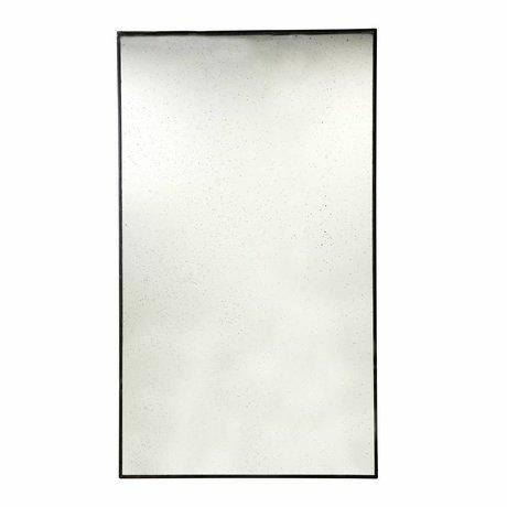 HK-living Espejo de suelo de metal 100x175x3cm