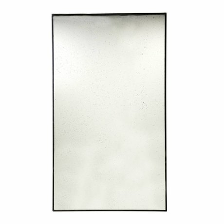 HK-living Floor mirror metal 100x175x3cm