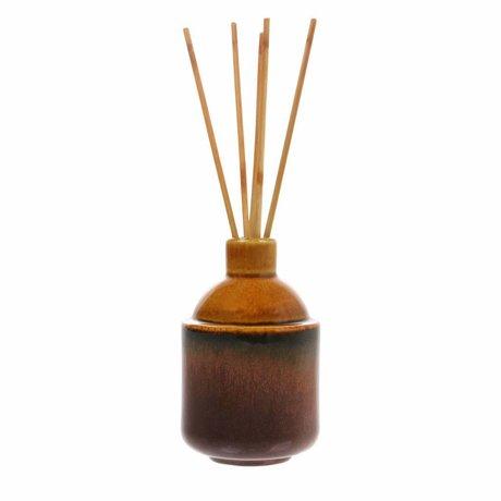 HK-living Bastoncini di incenso HK.5: basilico pulito 8,5x8,5x13,5cm