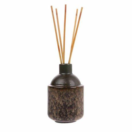 HK-living HK.6 Bastoncini di incenso: Muschio di mezza estate 8,5x8,5x13,5cm