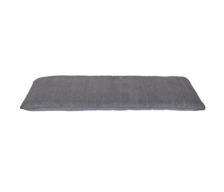 vtwonen Cushion Store gray cotton 120x50x6cm