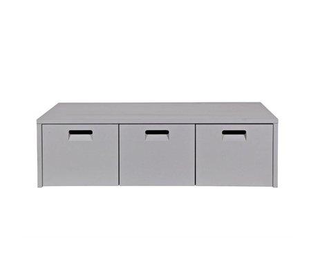 vtwonen Storage bench Store light gray pine 120x50x36cm