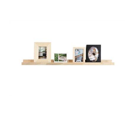 vtwonen Tableau de cadre photo non traité chêne 6x100x10cm