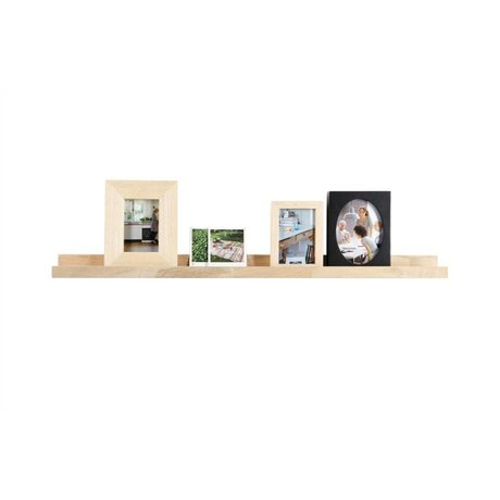 vtwonen Picture Frame Board roble sin tratar 6x100x10cm