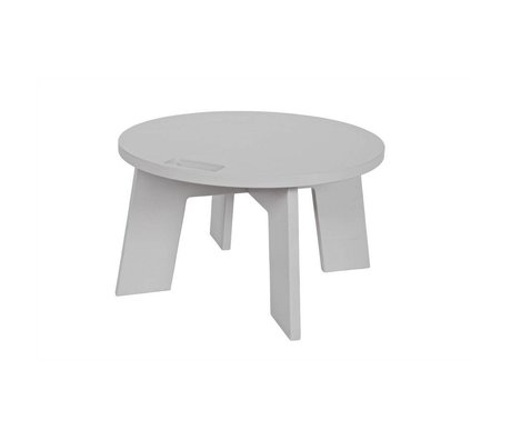 vtwonen Table de salon Grip gris clair Ø60x34cm