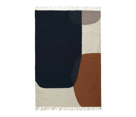 Ferm Living Tappeto Kilim Unire Cotone Lana 140x200