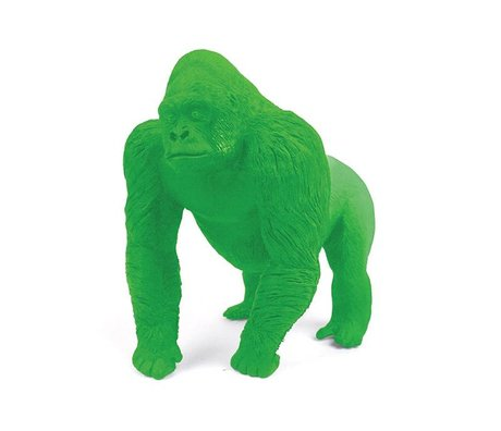 LEF collections Gorilla eraser, green, L9cm