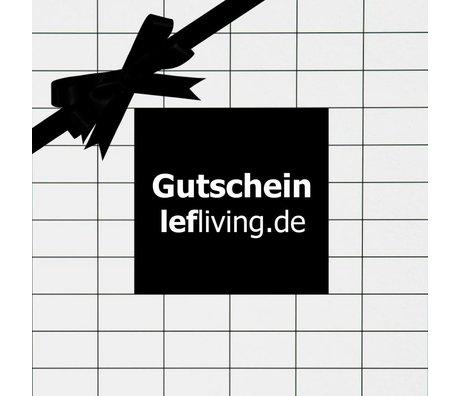 LEF collections lefliving.de chèque-cadeau € 15