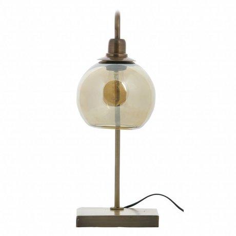 BePureHome Lantern bordlampe metal messing antik