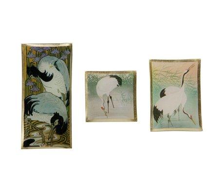BePureHome Sæt med 3 fugle skål