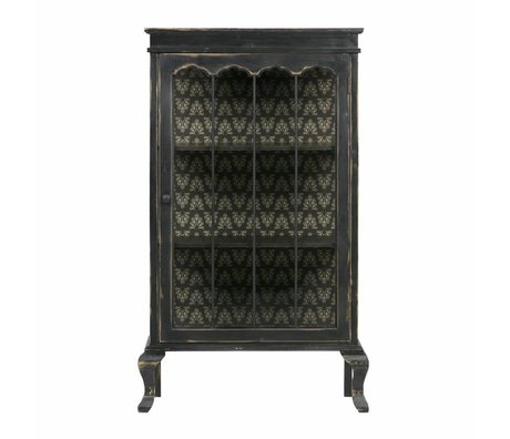 BePureHome Odd display cabinet wood black