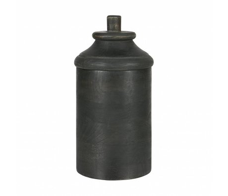 BePureHome Dropped pot of wood gray m