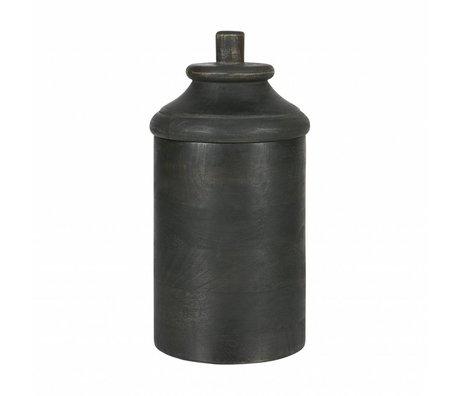 BePureHome Pot tombé de bois gris m