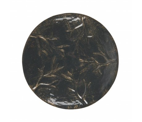 BePureHome Accent bowl metal black m