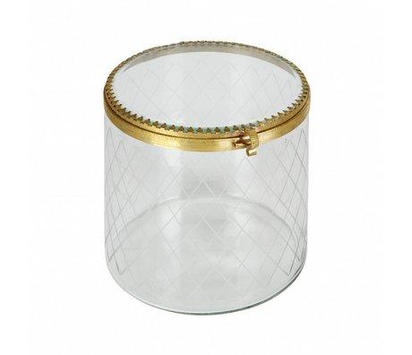 BePureHome Gioielli anch'essi ornamentali in metallo / vetro ottone