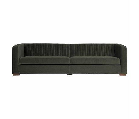 BePureHome Nouveau sofa xl velluto onice